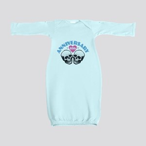 60th Anniversary Baby Gown