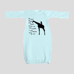 Giraffenapping Baby Gown