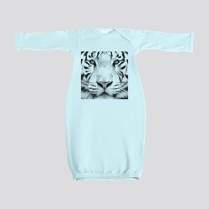 Realistic Tiger Painting Baby Gown