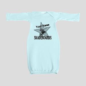 Custom Skateboards Baby Gown