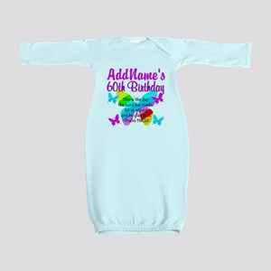 UPLIFTING 60TH Baby Gown