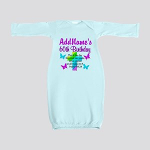 GOD LOVING 60TH Baby Gown