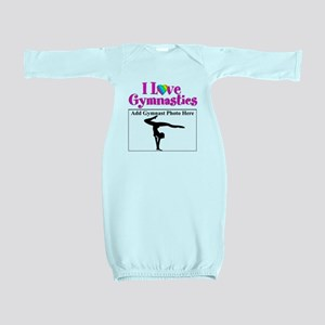 GYMNAST LOVE Baby Gown
