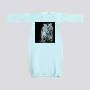 White Tiger Baby Gown