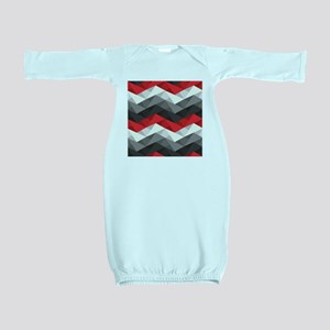 Abstract Chevron Baby Gown