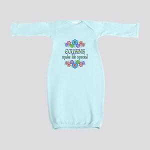 Cousins Make Life Special Baby Gown