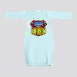 Super Cousin Baby Gown