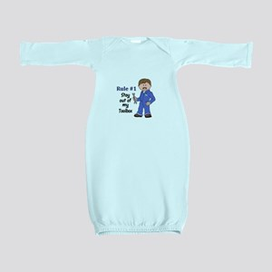 STAY OUT OF MY TOOLBOX Baby Gown