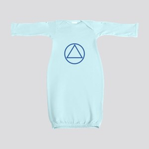 ALCOHOLICS ANONYMOUS Baby Gown