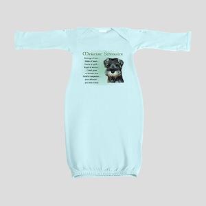 Miniature Schnauzer Baby Gown