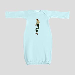 Vintage Pin Up Mermaid ~ Summer Baby Gown