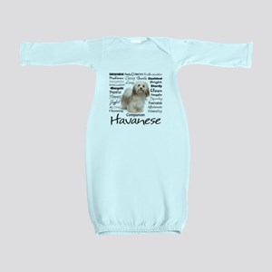 Havanese Traits Baby Gown