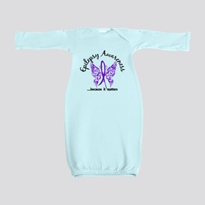 Epilepsy Butterfly 6.1 Baby Gown