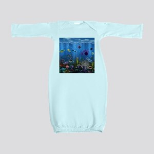 Underwater Love Baby Gown