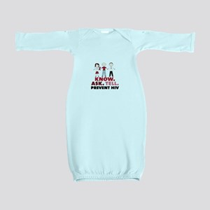 Know.Ask.Tell.Prevent HIV Baby Gown