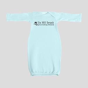 Drunk Potholes Baby Gown
