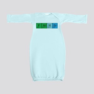 chem_father_alone Baby Gown