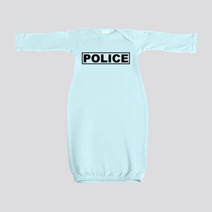 Police Baby Gown