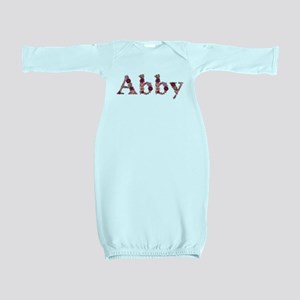 Abby Pink Flowers Baby Gown