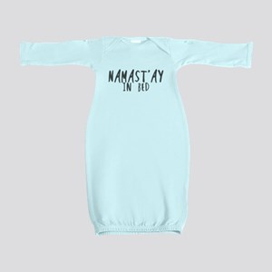 Namast'ay in bed Baby Gown