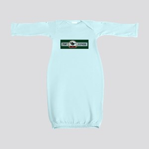 Pony Express Baby Gown