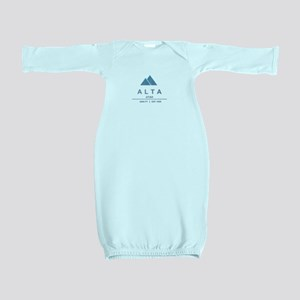 Alta Ski Resort Utah Baby Gown