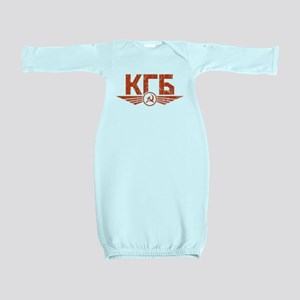 KGB Emblem Red Baby Gown