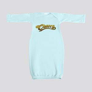 Cheers Logo Baby Gown