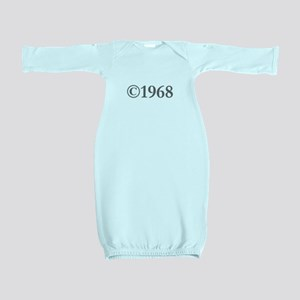 Copyright 1968-Gar gray Baby Gown