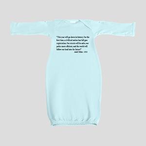 Gun Control Baby Gown