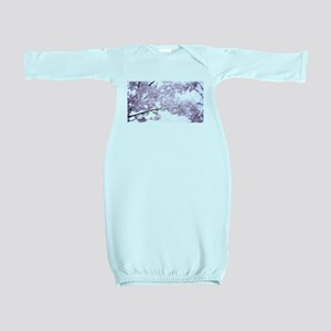 Cherry Blossoms Baby Gown