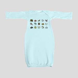 Neko Atsume Baby Gown