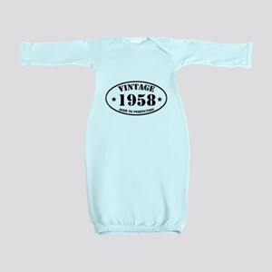 1958 Baby Gown
