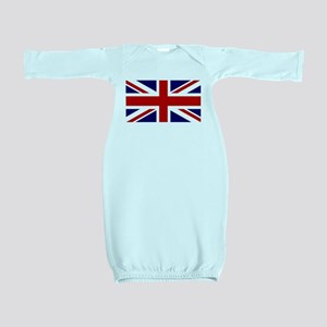 Union Jack Flag of the United Kingdom Baby Gown