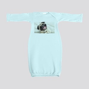 Pug Baby Gown