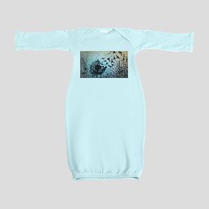Wulan's Dandelion Baby Gown