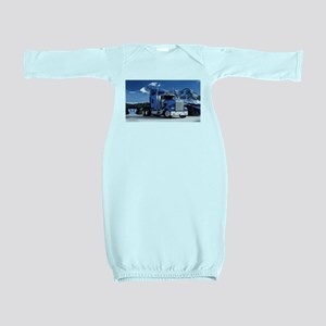 Mountain Blue Kenworth Baby Gown