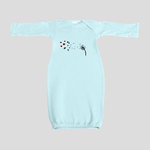 Dandelion Love Baby Gown