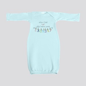 Laundry Hanging Baby Gown