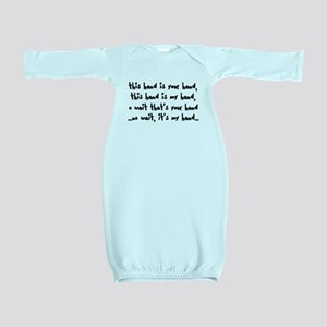 'The Hand Song' Baby Gown