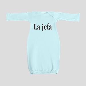 La jefa Baby Gown