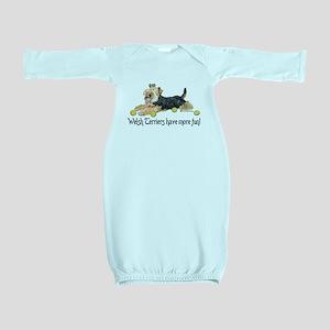 Welsh Terrier Fun Baby Gown