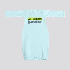 attention Baby Gown