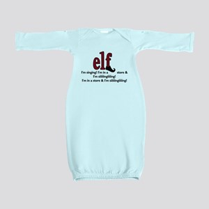 Elf - I'm Singing! Baby Gown
