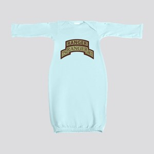 75th Ranger Regt Scroll with Baby Gown