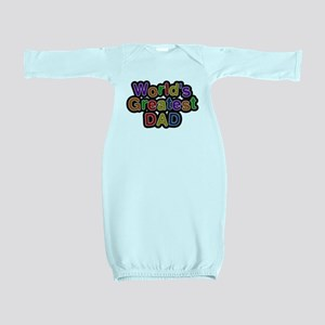 Worlds Greatest Dad Baby Gown