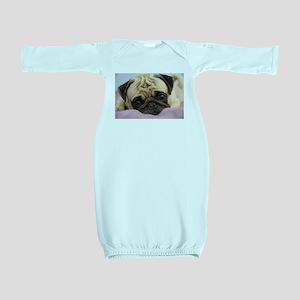 Pug Puppy Baby Gown
