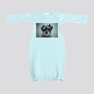 Schnauzer Baby Gown