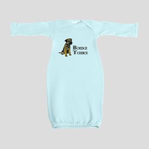 Border Terrier Baby Gown