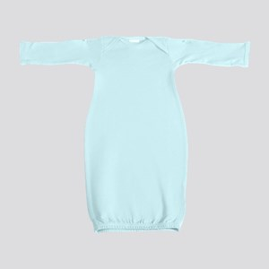 Vintage Baseball Baby Gown